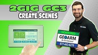 2GIG GC3 - كيفية إنشاء Z-الموجة أتمتة المشاهد ؟