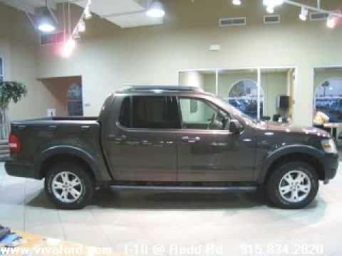 Viva Ford El Paso >> 2007 FORD EXPLORER SPORT TRAC SUV 4D - VIVA FORD EL PASO TX - YouTube