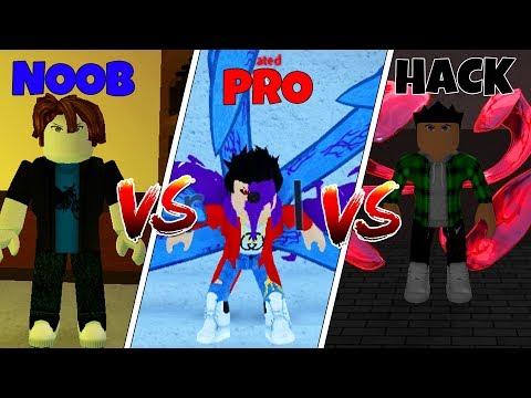 Roblox NOOB Vs. PRO Vs. HACKER: Ro-Ghoul  In Roblox! (Animation)