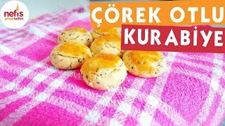 Çörek Otlu Tuzlu Kurabiye - Kurabiye Tarifleri - Nefis Yemek Tarifleri