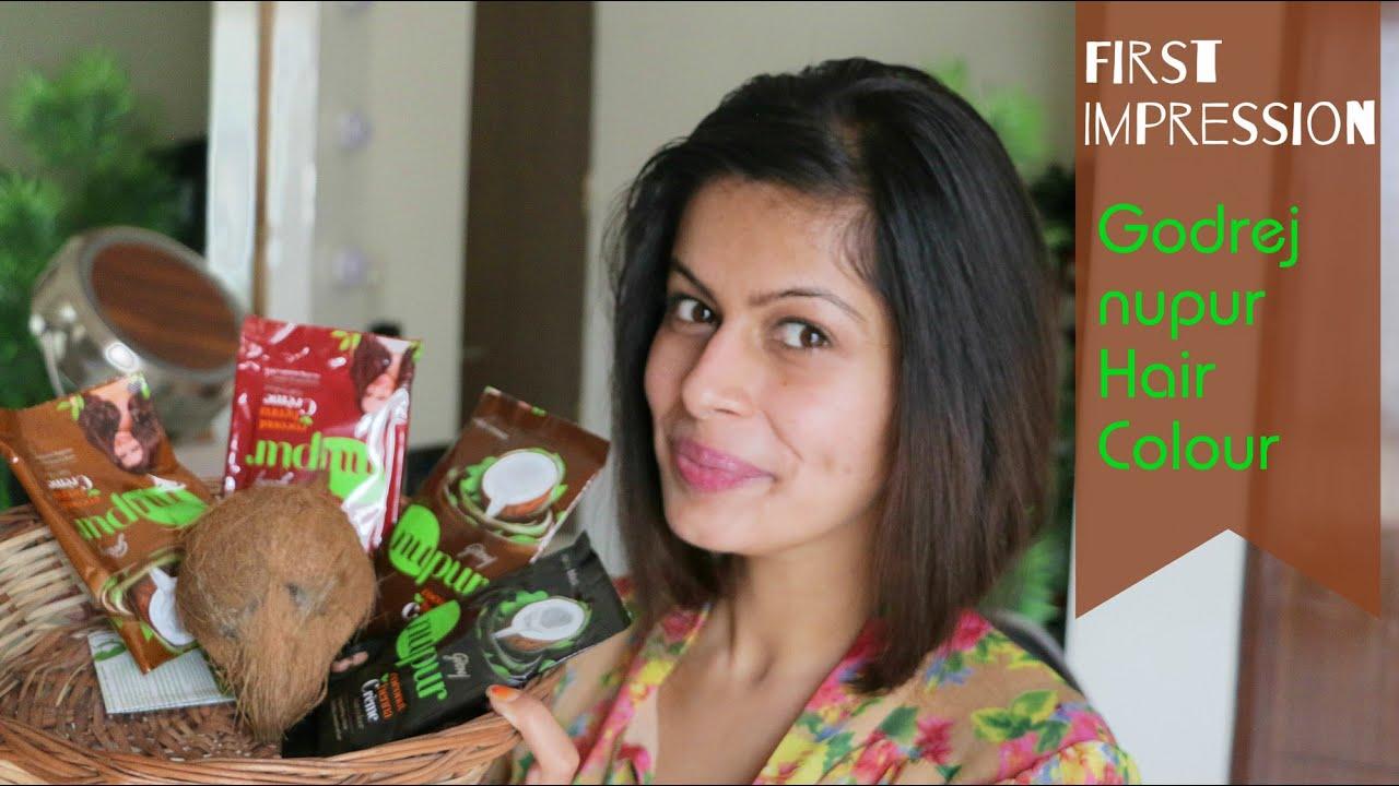 First Impression Review Godrej Nupur Creme Hair Colour Indian