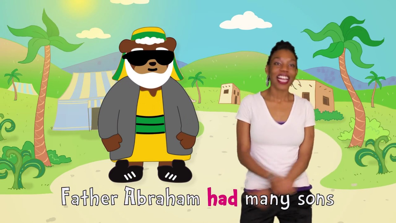 Father Abraham Had Many Sons | Dance-A-Long with Lyrics | Kids Worship