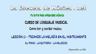 Cómo leer música - Tocando la melodía en el instrumento -...