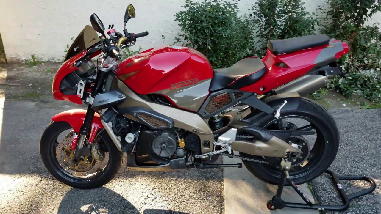 2003 Aprilia Tuono walk around