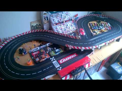 CARRERA SLOT CARS MERCEDES SLS AMG TEST