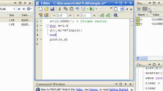 Writing a MATLAB Program (Previous Release)