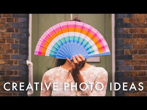 CREATIVE PHOTO IDEAS FOR CELEBRATION & BIRTHDAYS (easy photo ideas to do at home)