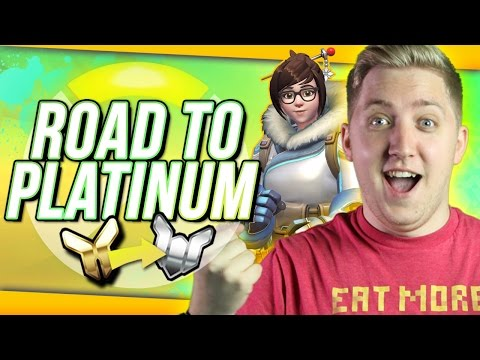 "Overwatch Competitive: Road To Platinum #1 ""WARNING! MEIDAY!"""