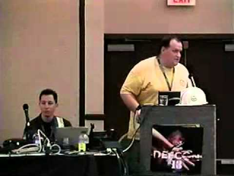 DEF CON 13 Hacking Conference Presentation By Strom Carlsom, Black Ratchet - Asterisk - Video
