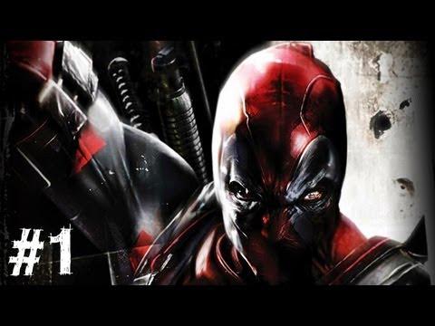 Deadpool Gameplay Walkthrough Part 1 - Home Sweet Home