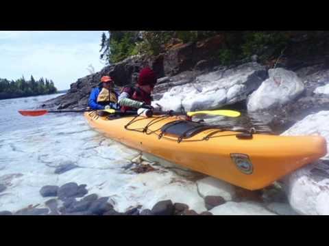 Isle Royale Overnight Sea Kayaking - Short