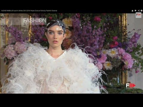 "Fashion Show ""ALEXIS MABILLE"" Autumn Winter 2013 2014 Haute Couture Paris by Fashion Channel"