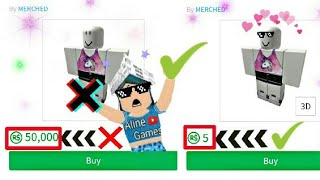 HOW TO HAVE CHEAPER CLOTHES ON ROBLOX!