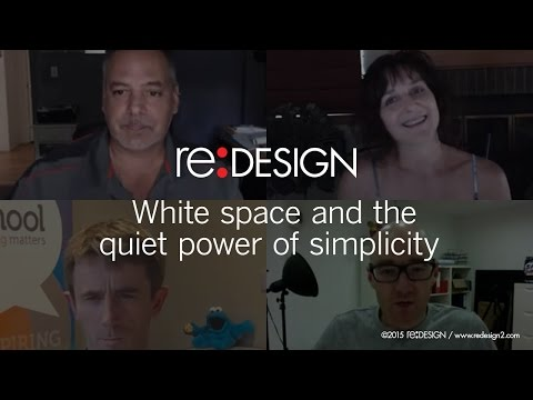 White space and the quiet power of simplicity.