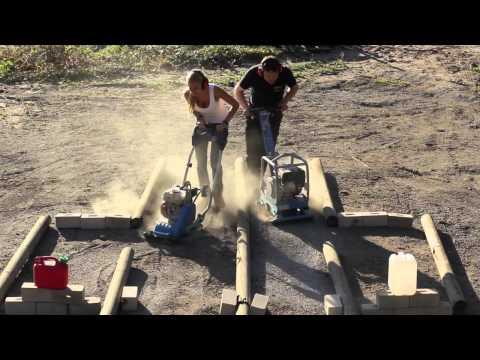 Video Die Rüttelplatten - Rentas Werkzeugvermietung