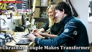 This Ukrainian Couple Makes Transformer Suits From Scratch