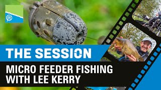 THE SESSION - Lee Kerry's winter feeder fishing approach