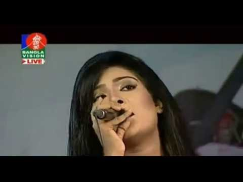 Amar Mon Mojaiya Murshid   Bangla Folk Song   By Bindu Kona