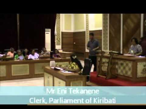 Kiribati Mock Parliament for Women - August 2011.wmv