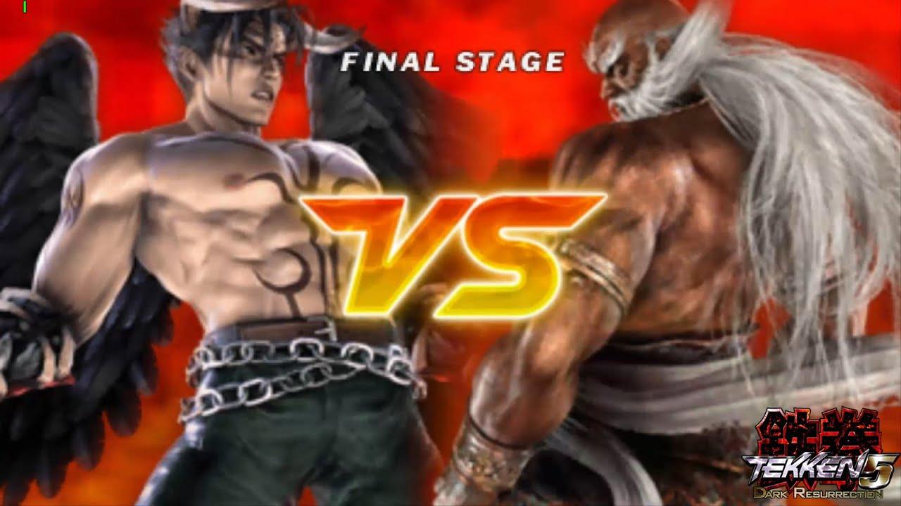 Tekken 5 Dark Resurrection Devil Jin Final Stage Jinpachi 5