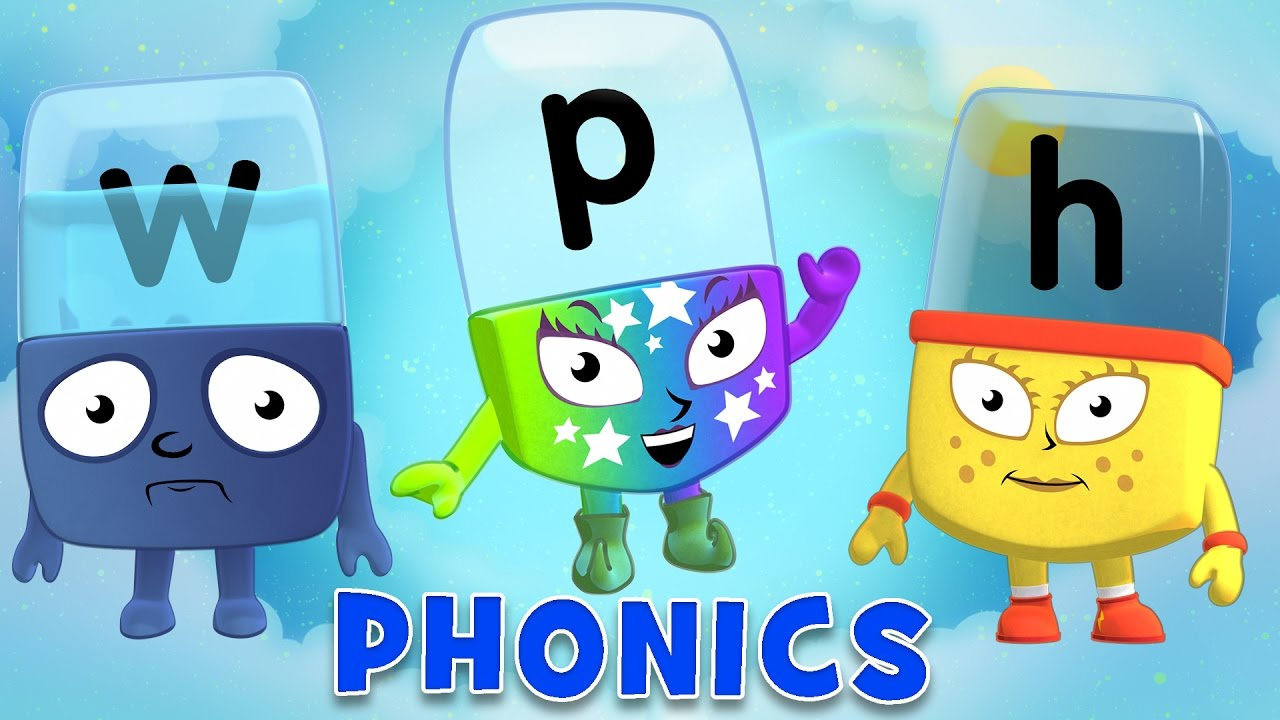 Learn to Read | Phonics for Kids | Letter Vowels - WH and PH - YouTube