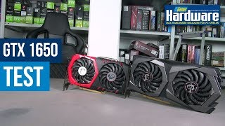 MSI GTX 1650 Gaming X 4G | Eine Alternative zur RX 570? | Test | 1650 Vs. 1050 Ti
