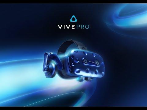 CES 2018 in Las Vegas: HTC Vive Pro 1