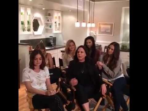Special PLL Announcement || Shay, Sasha, Ashley, Lucy, Troian and Marlene || Facebook Live