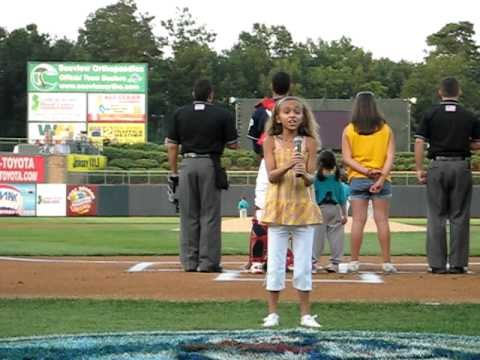 National Anthem sung by LISA DIAZ  Amazing voice