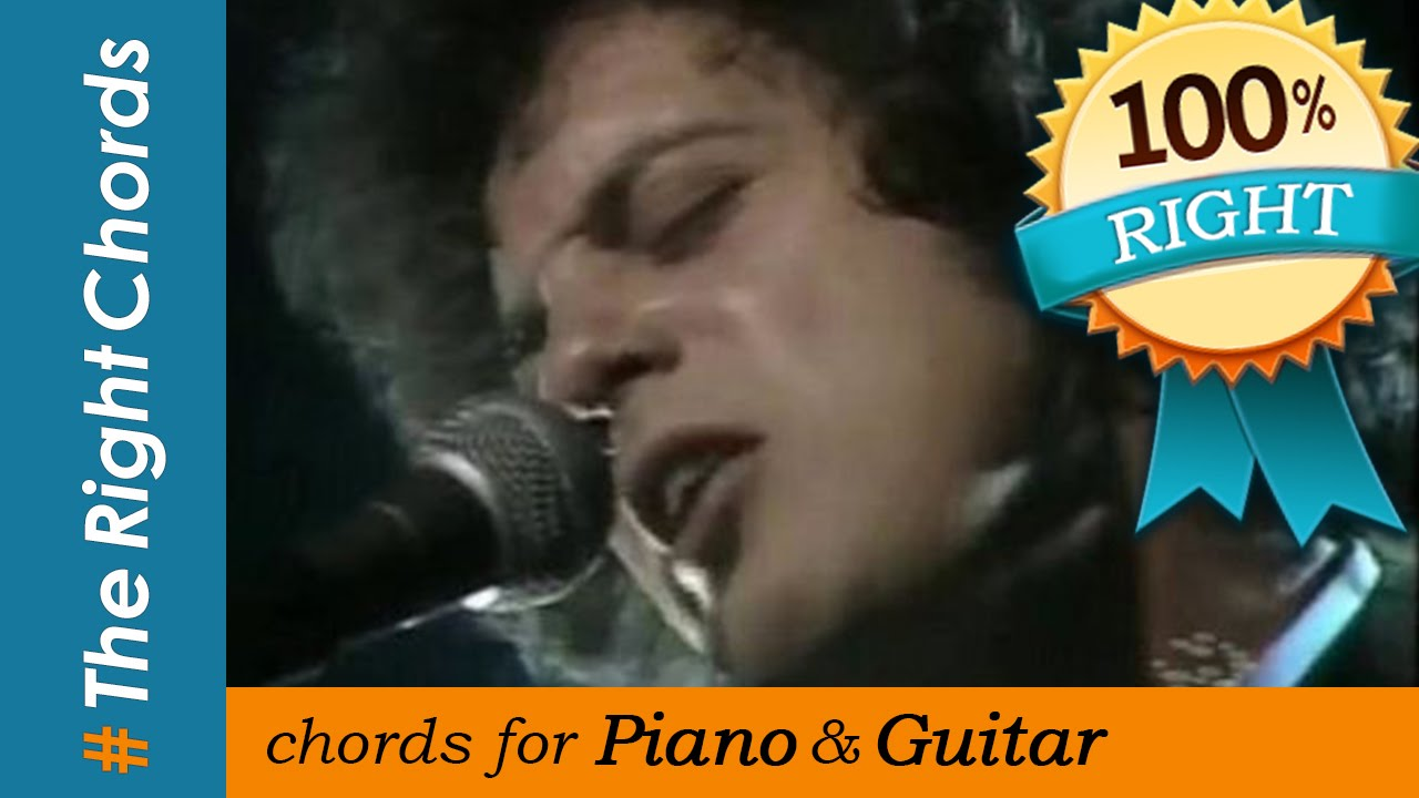 Billy Joel Just The Way You Are Chords Therightchords Youtube