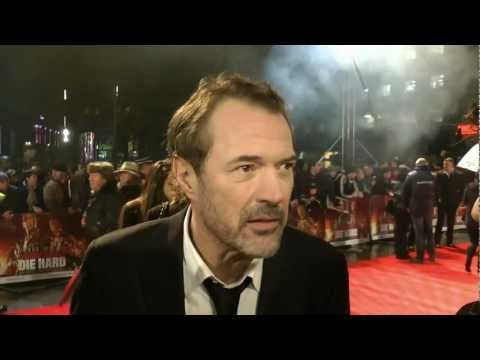 Sebastian Koch   A Good Day to Die Hard UK Premiere