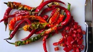 How to make Italian hot chilli oil