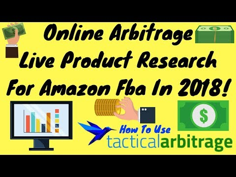 Beginner's Guide Online & Retail Arbitrage Using Tactical Arbitrage For Amazon FBA In 2018 Tutorial