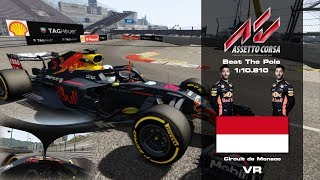 Assetto Corsa - F1 2018 Beat The Pole - Monte Carlo, Monaco Grand Prix