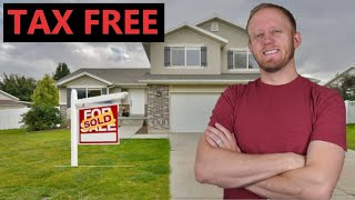 How To Avoid Taxes When Selling A House! $0 Capital Gains Tax!