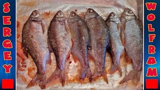 Cамая Вкусная Жареная Плотва(Delicious Fried Roach)