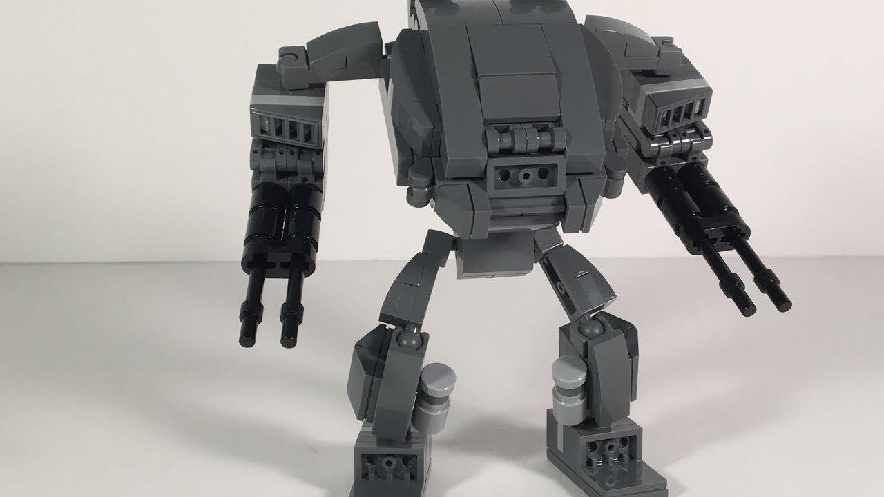 Lego Mech Suit - Heartbreaker - YouTube