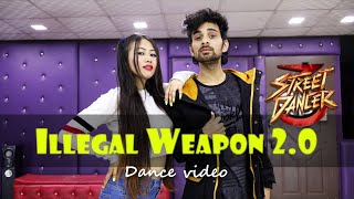 Illegal Weapon 2.0 Dance  by Ajay Poptron and Kavita | Street Dancer 3D