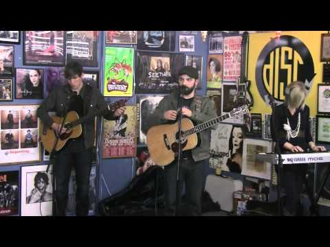 Drew Holcomb and the Neighbors in-store performance for i105 WFIV