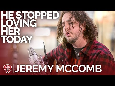Jeremy McComb - He Stopped Loving Her Today (Acoustic Cover) // The George Jones Sessions