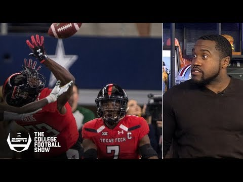Texas Tech, Indiana INTs lead Week 13 college football 'Holy Cow' plays | The College Football Show