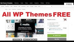 How to download WordPress Premium Themes  FREE | Nulled Themes