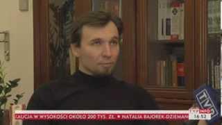 Tomasz Dziemianczuk dla TVP: Czułem się jak egzotyczne zwierzę w klatce (TVP Info, 21.11.2013)