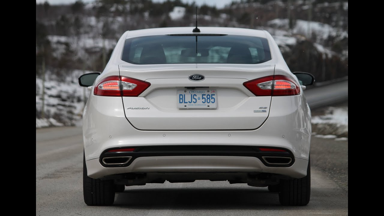 Ford Fusion Se Awd 2 0 Ecoboost Test Drive