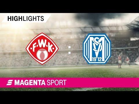 FC Würzburger Kickers - SV Meppen | Spieltag 9, 19/20 | MAGENTA SPORT