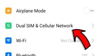 OPPO A1K SIM Card Setting