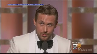 'La La Land' Stands Tall At The Golden Globes