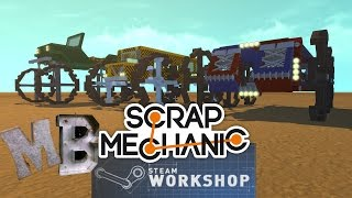 Steam Workshop / Blueprints Tutorial - Scrap Mechanic - Episode 59