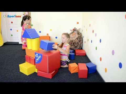 Мягкие модули для дома и детских садов Спортана