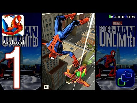 Spider-Man Unlimited Android Walkthrough - Gameplay Part 1 - Issue 1: Night Of The Goblin